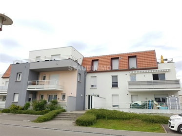 Kembs 3 room apartment of 60 m2 with garage and parking