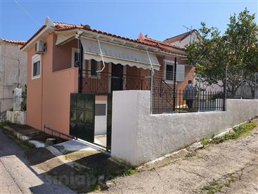 55Sq.M. House with basement & yard - New construction