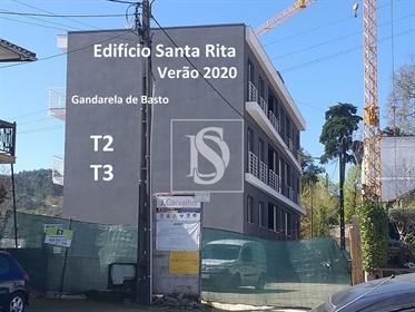 Apartamento T2 de luxo em Gandarela de Basto