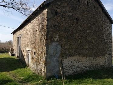 Barn with land in a cul-de-sac