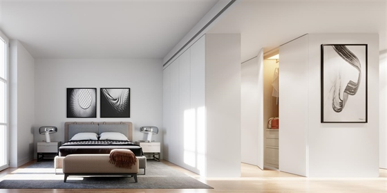 F3 de 83 m2, neuf, de emplacement privé, stockage et veranda...
