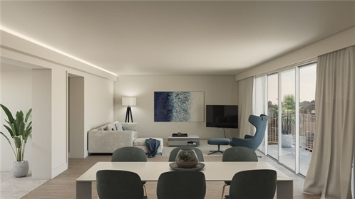 Apartamento T2 com 141 M ², novíssimo, com estacionamento e ...