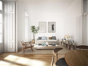 Apartamento T2 com 89 M ², novíssimo, com varandas de 6 e 2 ...