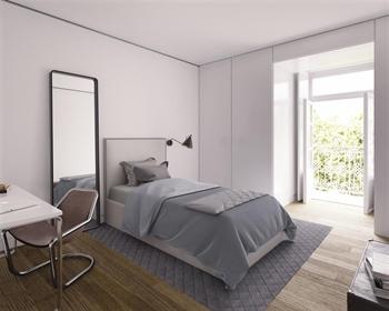 apartamento de 2 quartos com 107 m ², novíssimo, em um edifí...