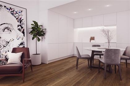 apartamento de 1 quarto com 62 m ², novíssimo, em um edifíci...
