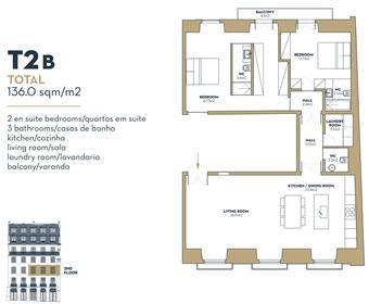 Apartment: 136 m²