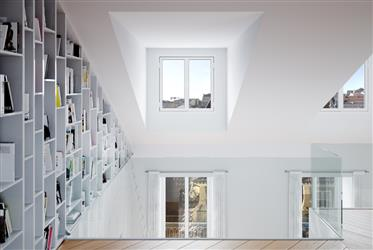 Moderno, apartamento, Baixa, Lisboa
