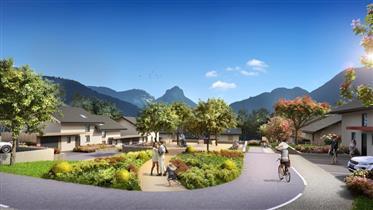 Belles villas avec vue sur la montagne