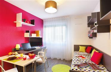 Appartement : 18 m²