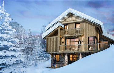 Projet de Chalet luxe 500 m aux pistes de ski