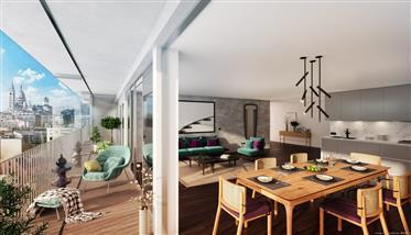 Paris 18ème - appartements de 1 à 4 chambres à partir de 625...