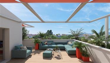 Cannes: Studio au 3 pièces à partir de 164 000€