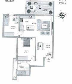 """דירה : 67 מ""""ר"""