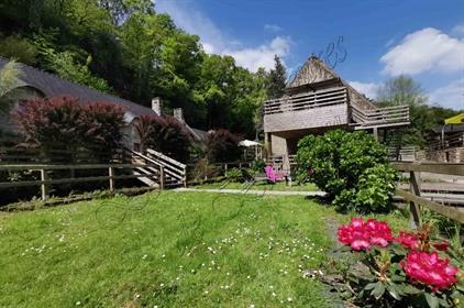 A vendre Superbe moulin du XVIe avec 3 gîtes, sur 4,5 ha Mor...