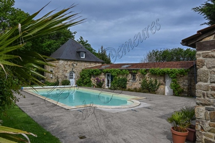 For sale beautiful property with swimming pool and gites Lannion Côtes d'Armor Brittany