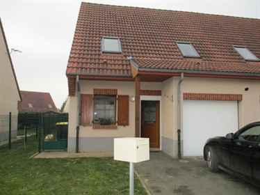 Réf 3070 : maison fonctionnelle avec garage dans résidence récente
