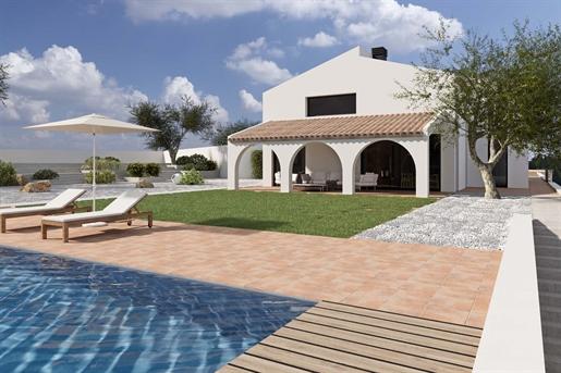 Finca de nueva construcción en venta en Moraira, situada en ...