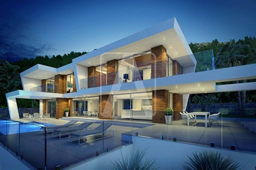 Villa de diseño moderno ubicada en un enclave exclusivo entr...