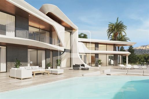 Villa de lujo de diseño moderno en venta en Javea. Ubicada e...