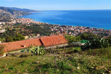 Open sea view ,quiet area near Monaco