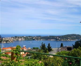 Ve mer et vue Saint Jean Cap Ferrat