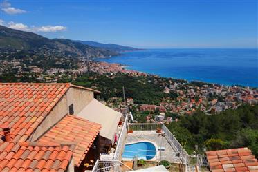 Vue mer, calme, proche Monaco