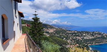 Vue mer panoramique , proche Monaco