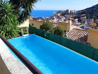Monaco a pieds, vue mer, jardin