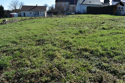 Terrain Constructible Plat 1239 M² Proche Axe Hericourt-Montbeliard