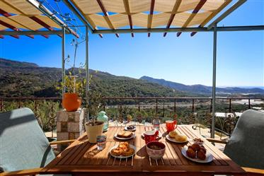 House 2km from the sea  with nice views!!!!  east Crete