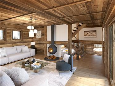 Amazing luxury chalet off plan on the best location of les Gets!
