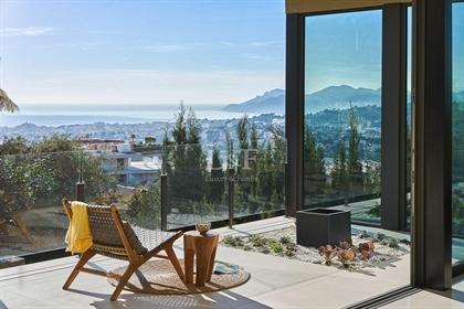 Exclusivité - Superbe villa contemporaine neuve avec vue panoramique mer