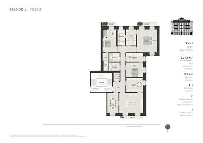 Appartement 4 Chambre(s) Vente em Alcântara,Lisboa