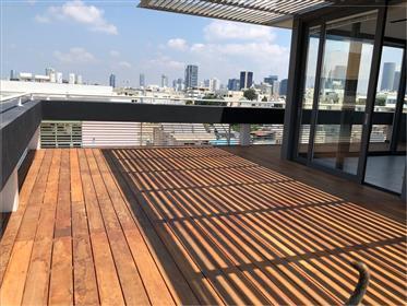 פנטהאוס חדש ונדיר ביופיו בבניין לשימור לשימור מוקפד * פרויקט הושלם