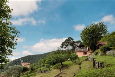 Villa con vista sulla costa Toscana