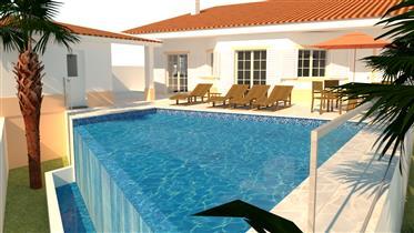 Moradia V4 Com Piscina E Garagem - Arredores Praia Verde /Castro Marim