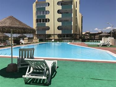 Apartamento T1 no centro de Vilamoura com piscina
