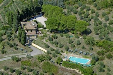 San Gimignano, ferme à vendre