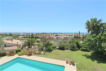Beautiful property with panoramic sea view