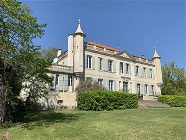 Magnificent Chateau Close To Lectoure