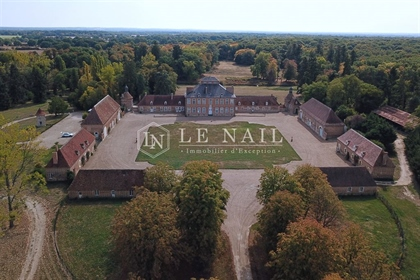 Rare listed 18th century chateau in the Bourbonnais.