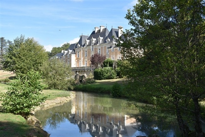 Beautiful french castle for sale near Poitiers.