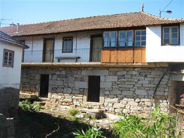 Escola primária no norte de Portugal
