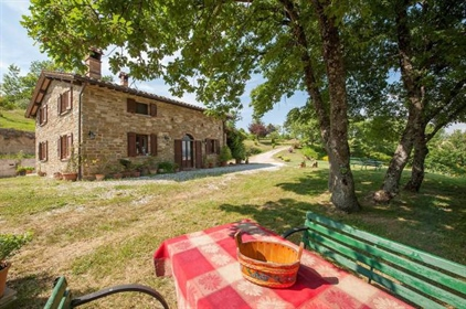 Farmhouse near Gubbio in Umbria for sale - Casale Campette. Casale Campette is located in ...