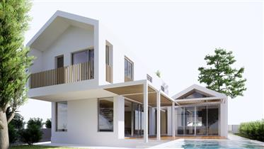Plot for Construction Detached House T4 with approved projec...