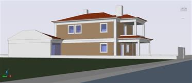 Plot for construction housing T4 with approved project