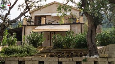 Terrazza - grande casa con una splendida vista