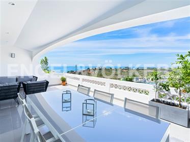 Renovierte T2+1-Duplex-Wohnung Mit Meerblick
