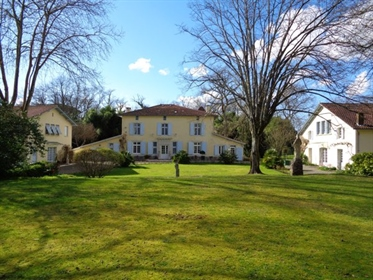 This splendid 17th century Maison de Maitre sits in its peaceful landscaped grounds of 2 ha. Located