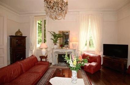 A classic 19th century Maison de Maitre set in mature park gardens of 2.5 acres with ancient cedars,